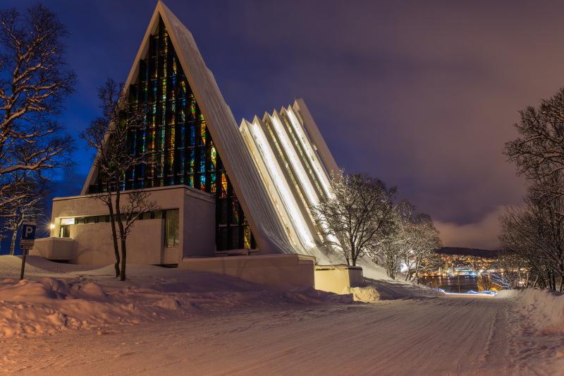 Guide Tromso DamienLB Ishavskatedralen cathédrale arctique