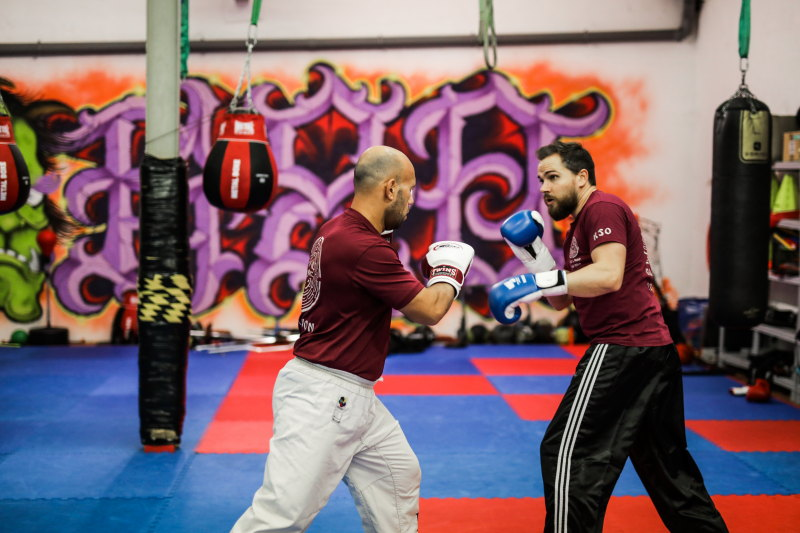 pratiquer un sport de combat damienLB (16) sparring