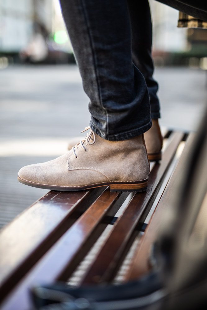 Surchemise DamienLB boots bobbies homme